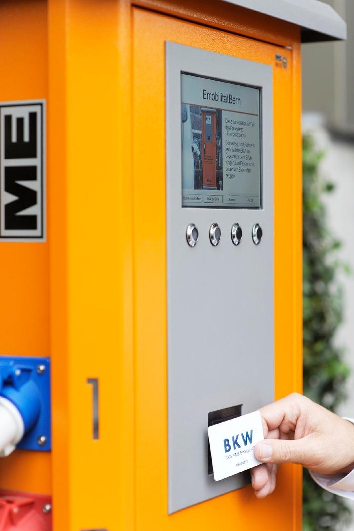 Mobility Solutions AG und BKW: Erste intelligente Ladestation für Elektroautos eingeweiht