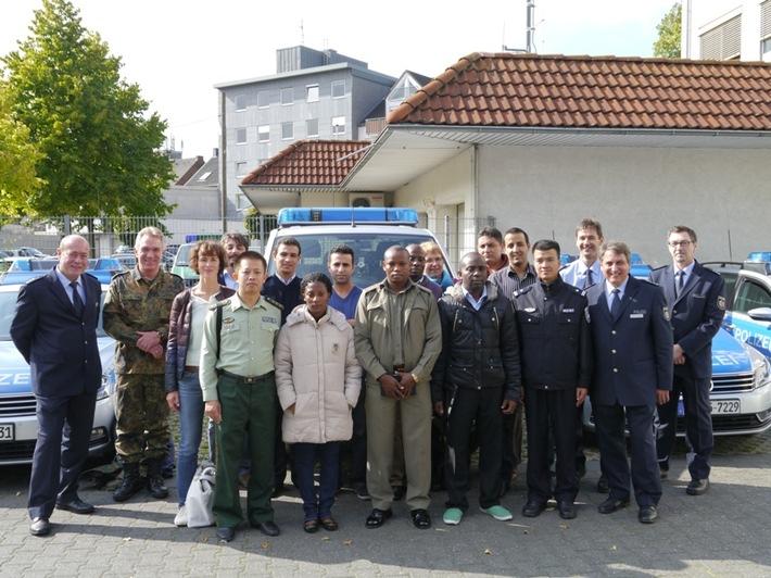 POL-REK: Ausländische Polizisten zu Gast - Hürth