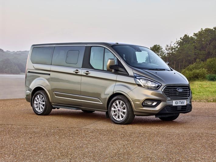 Neuer Ford Tourneo Custom: der ideale Personentransporter für Business und Freizeit