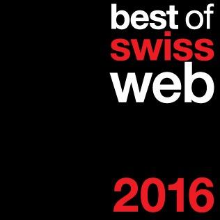 Best of Swiss Web 2016 - Appel à projets