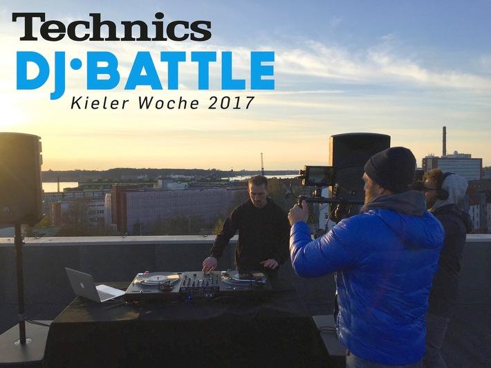 Technics DJ-Battle auf der Kieler Woche 2017 / Jetzt per Video bewerben und am neuen Plattenspieler Technics SL-1210GR live im OCEAN Funpark die DJ-Krone gewinnen