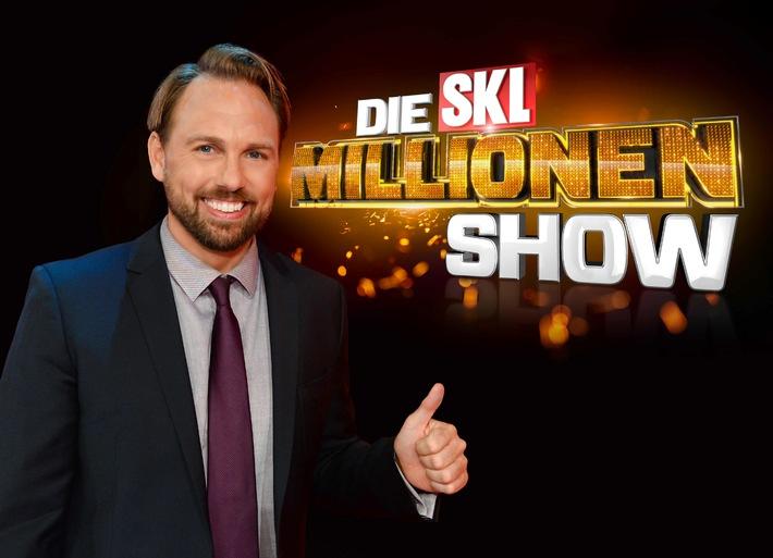 """Mal eben Millionär! SAT.1 bringt die """"SKL-Millionen-Show"""" zurück ins Fernsehen"""