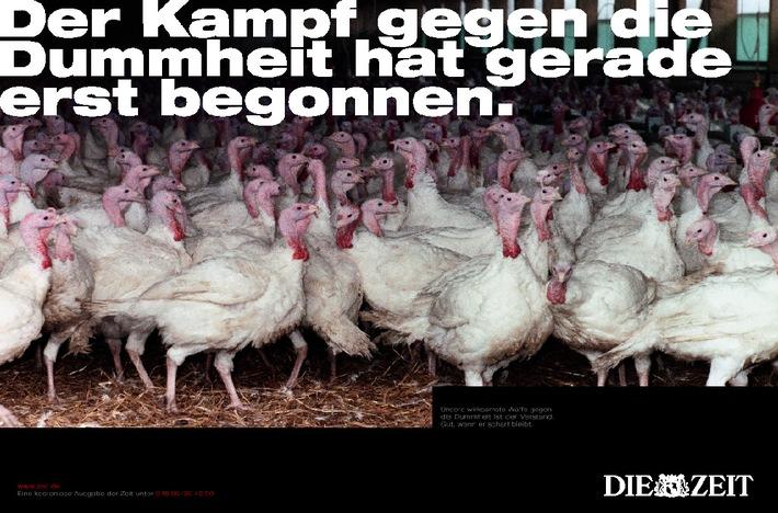 """DIE ZEIT wirbt erstmals im Fernsehen """"Der Kampf gegen die Dummheit hat gerade erst begonnen"""""""