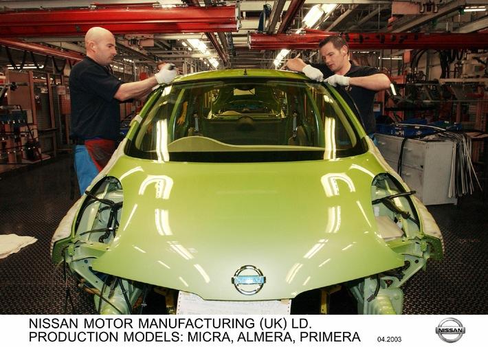 Nissan annonce une rentabilité record pour l'exercice 2002, avec une marge opérationnelle de 10,8%