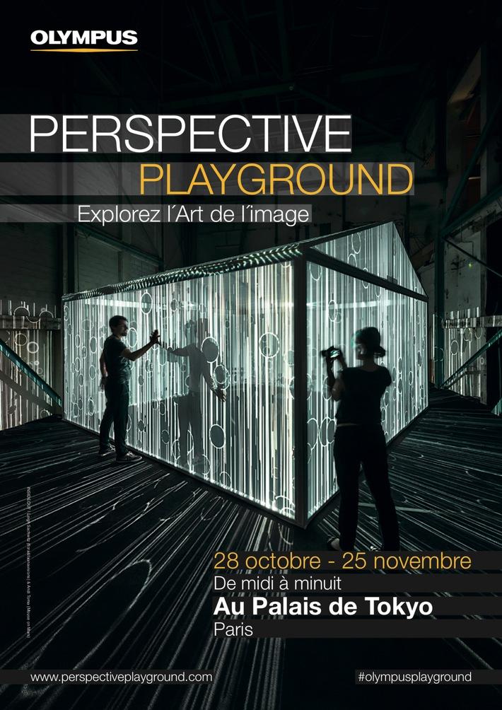 PERSPECTIVE PLAYGROUND von Olympus öffnet in Paris / Außergewöhnliche visuelle Objekte im Palais de Tokyo