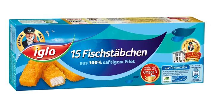 iglo Fischstäbchen schmecken - und das schon seit 55 Jahren / Eine Erfolgsgeschichte