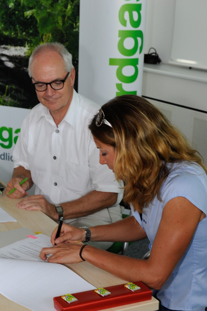 Erdgas verlängert Sponsoring mit Nicola Spirig