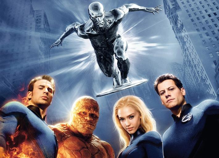 "Fanta 5: Bernd Eichingers ""Fantastic Four - Rise of the Silver Surfer"" am Sonntag auf ProSieben"