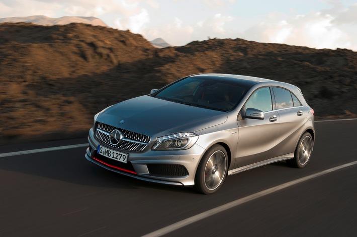Die neue A-Klasse - der Mercedes-Sportler unter den Kompakten