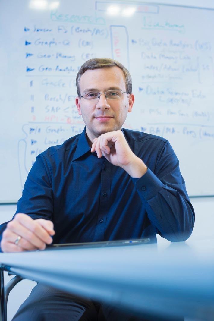 Neuer Professor untersucht am HPI komplexe Muster in großen Datenmengen