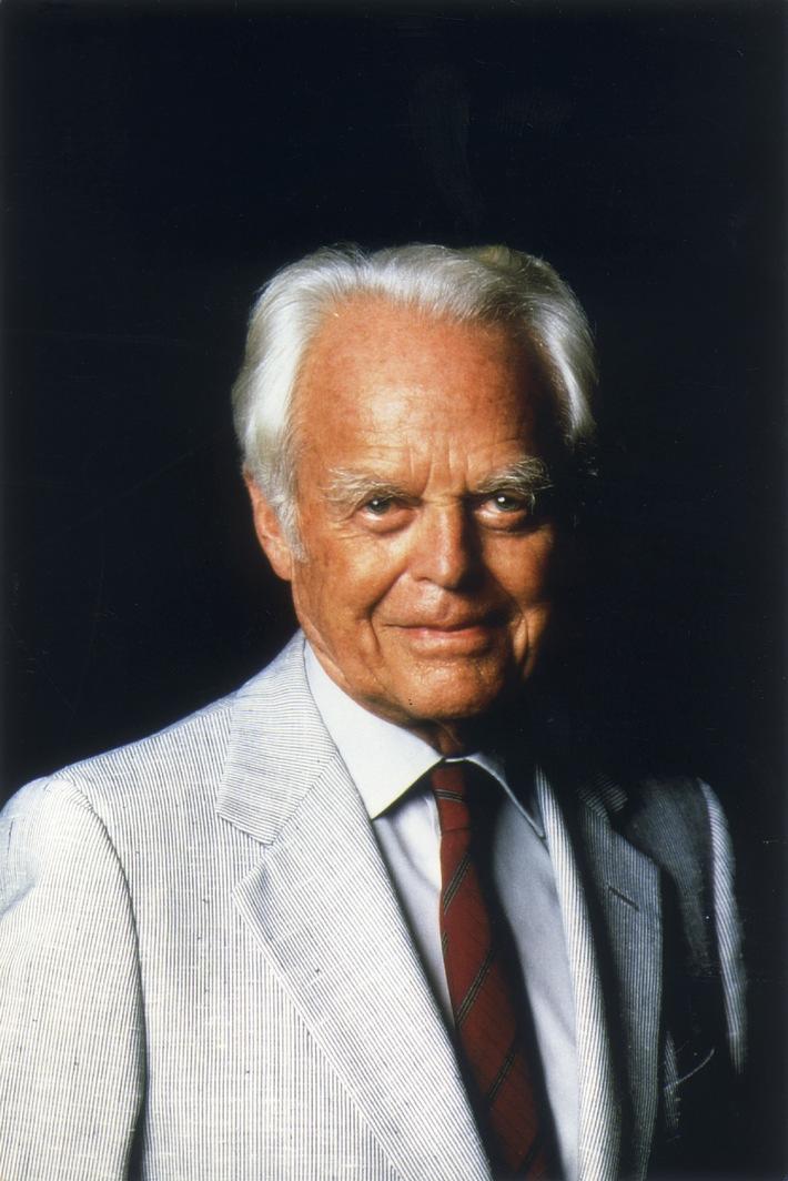 Il fondatore della AMAG Walter Haefner: Un pioniere dell'economia diventa centenario