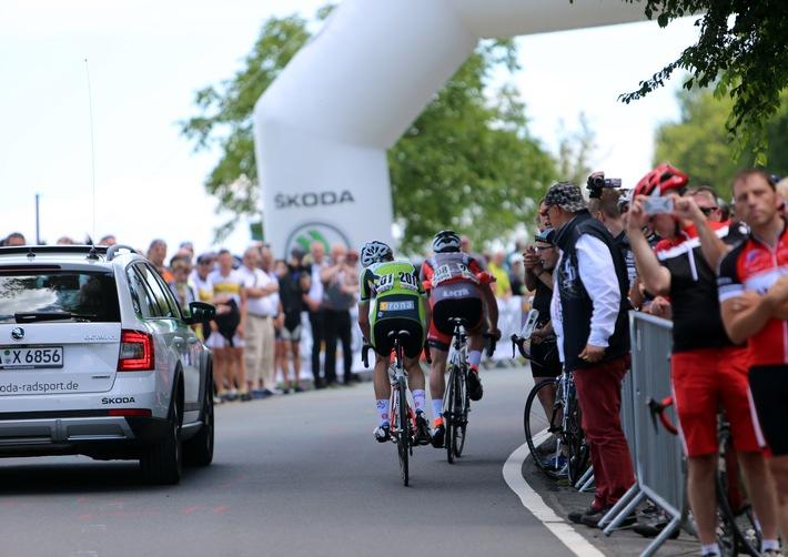 SKODA erneut bei der Deutschen Straßen-Radmeisterschaft am Start