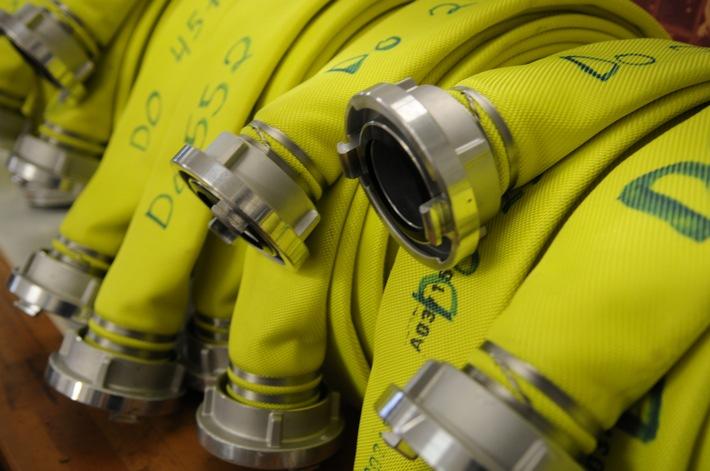FW-Dorsten: Scheune brannte in der Nacht komplett nieder