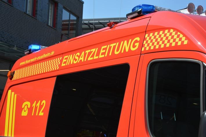 FW-MH: Sylvesterbilanz 2015/2016  Ereignisreicher Jahreswechsel für die Mülheimer Feuerwehr
