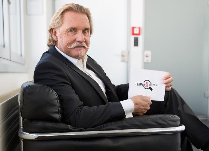 """Wer hat welches Recht? TV-Anwalt Ingo Lenßen über Rechtsfragen und Rechtsirrtümer - in """"Lenßen klärt auf"""" ab 15. Oktober 2014 um 21:00 Uhr bei SAT.1 Gold"""