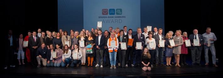 Sparda-Bank Hamburg Award 2017: 115.000 Euro an Sozial-, Sport- und Umweltschutz-Projekte vergeben