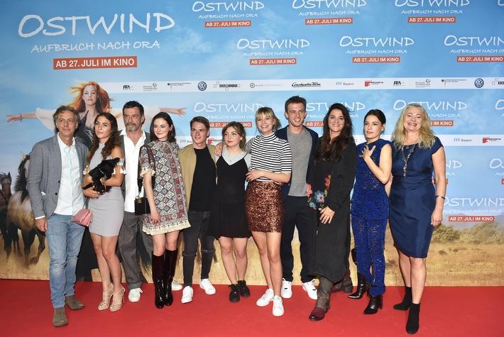 OSTWIND - AUFBRUCH NACH ORA begeistert das Publikum bei der Weltpremiere in München