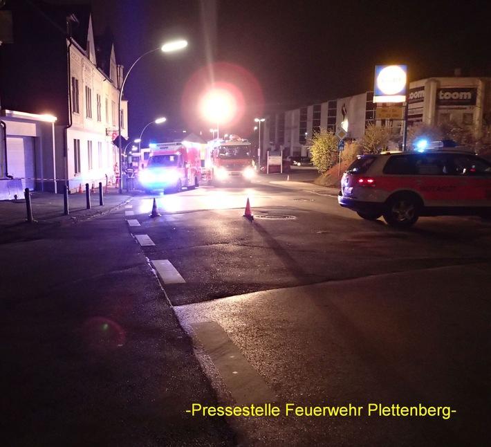 FW-PL: Schwerer Verkehrsunfall im OT Stadtmitte mit tödlichem Ausgang