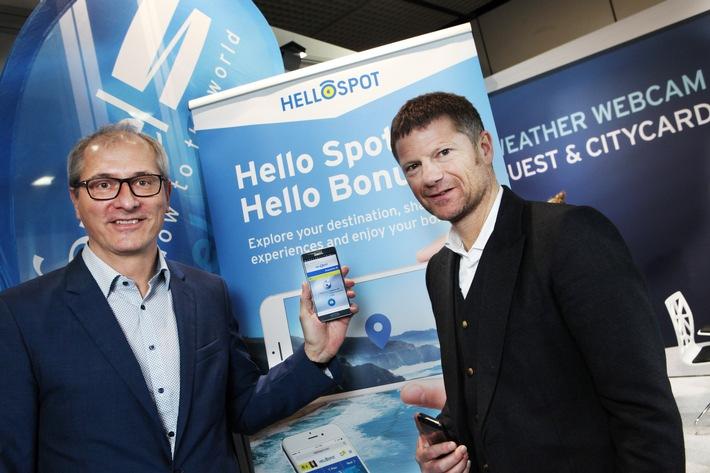 """feratel forciert mit """"HelloSpot"""" und einer  innovativen """"SocialWall"""" die Interaktion mit Gästen"""