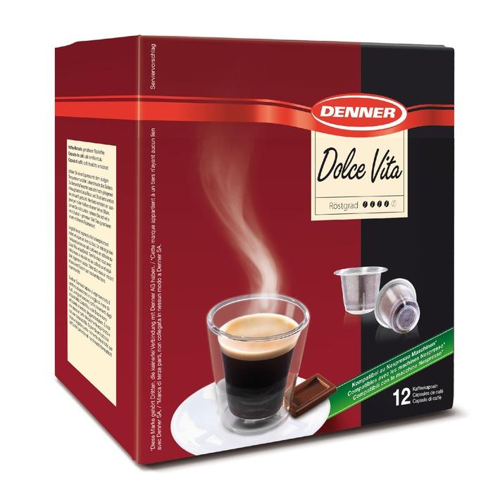 Denner lanciert Nespresso*-kompatible Kaffee-Kapsel / Kaffeegenuss zu attraktivem Preis