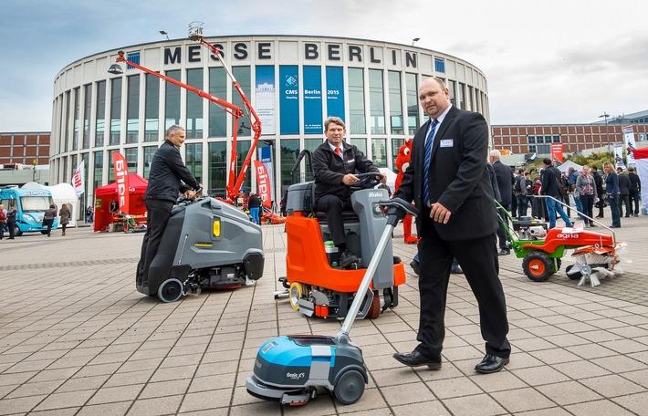 CMS 2017 Berlin - Cleaning.Management.Services. / 19. bis 22. September 2017 - Internationale Akquisition gestartet