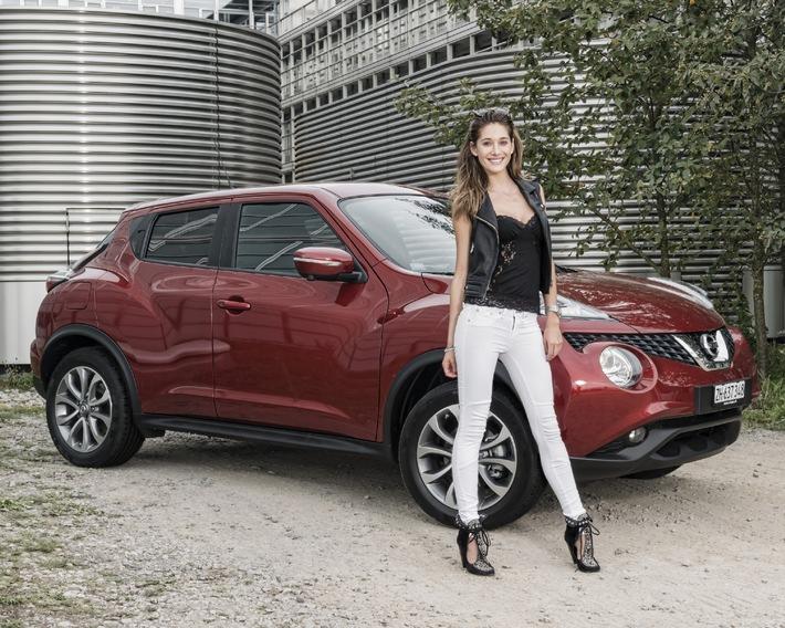 Bianca Gubser neue Nissan Markenbotschafterin in der Schweiz (BILD)