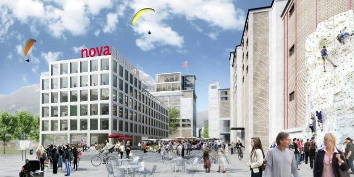 Schwyzer Kantonalbank lanciert Nova Brunnen: Innerschwyz überrascht mit innovativem Wirtschafts-Zentrum