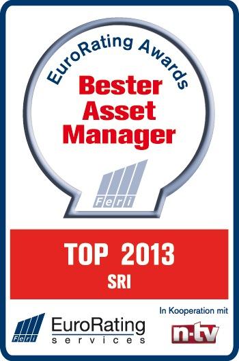 FERI-Awards 2013: ÖKOWORLD als Top Asset Manager ausgezeichnet / n-tv, FERI und das Handelsblatt haben die Tochter der versiko (WKN 540868) zu den Besten gewählt