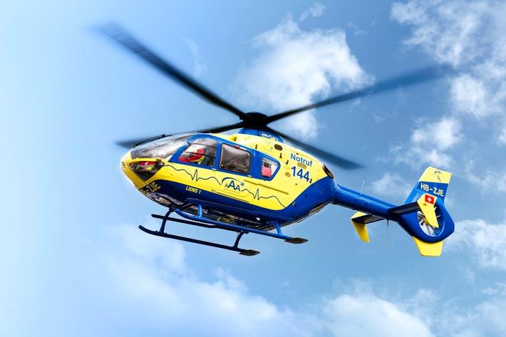Alpine Air Ambulance: 512 Einsätze mit dem «Lions 1» im letzten Jahr