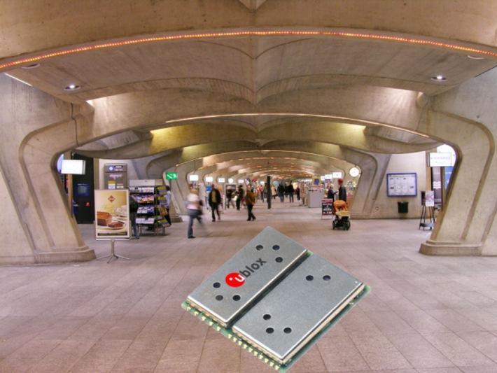 u-blox lanciert TIM-LH GPS-Modul mit SuperSense™ Weak Signal Tracking