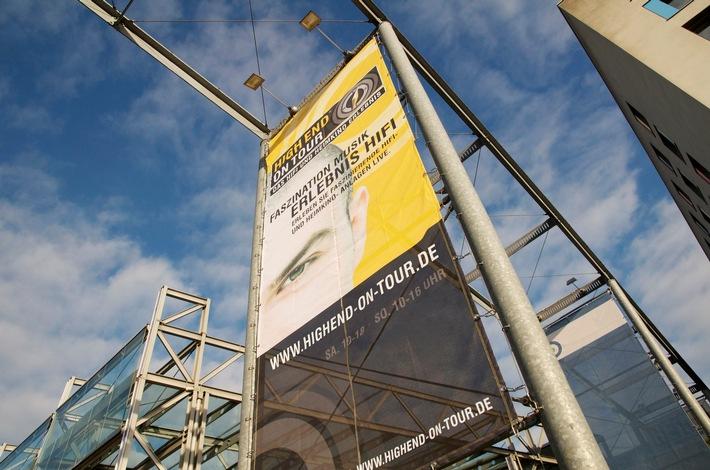 HIGH END ON TOUR / Die Messe zum genussvollen Musikhören im Hannover Congress Centrum (HCC)