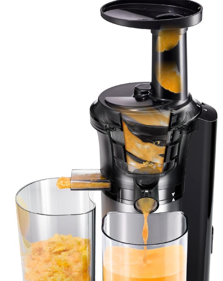 Vitaminkick mit dem Panasonic Slow Juicer MJ-L500 / Gesunde, frische Säfte, Sorbets und Frozen Joghurts im Handumdrehen