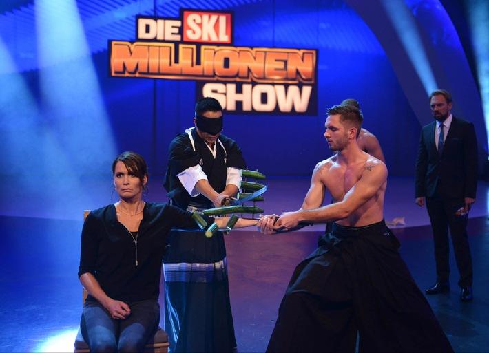 """Mal eben Millionär! Am Samstag bringt SAT.1 die """"SKL-Millionen-Show"""" zurück ins Fernsehen"""