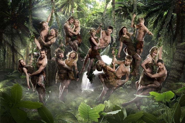 """1. Live-Show """"Ich Tarzan, Du Jane!"""" mit 16 Kandidaten,  Hugo Egon Balder und Gastjuror Roger Cicero am Freitag, 28. März 2008, um 20.15 Uhr in Sat.1"""