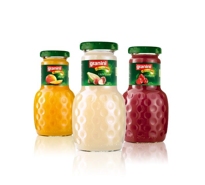 """Nouvelle ligne de produits granini exclusivement pour le marché Horeca: """"granini Specialities"""" - une nouvelle aventure fruitée"""