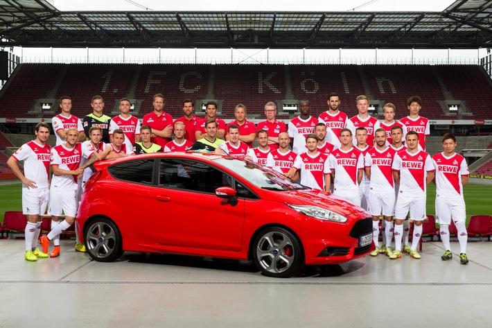 Seit 20 Jahren gemeinsam stark: Ford und der 1. FC Köln verlängern ihre Partnerschaft für eine weitere Saison
