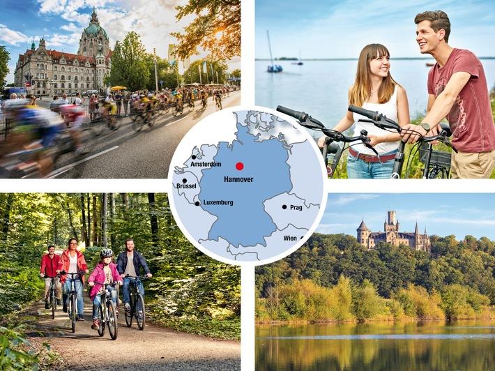 Erfahren, Entdecken und Genießen: Die Urlaubsregion Hannover lädt zum abwechslungsreichen Fahrradausflug ein