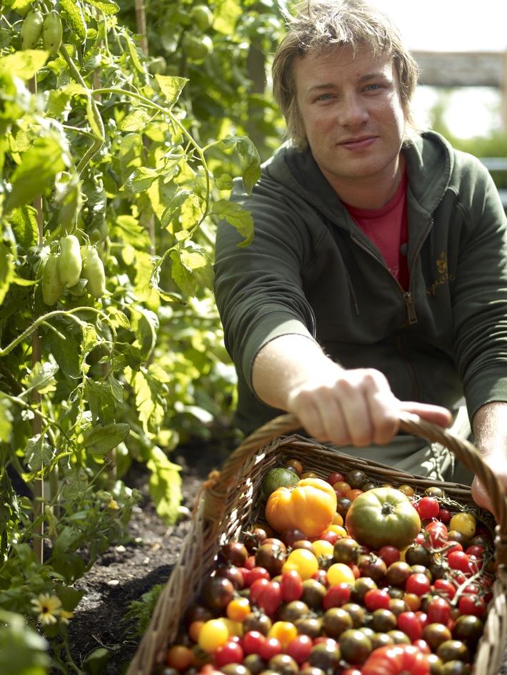 Auch 2012 gibt's auf sixx Jamie Oliver satt (mit Bild)