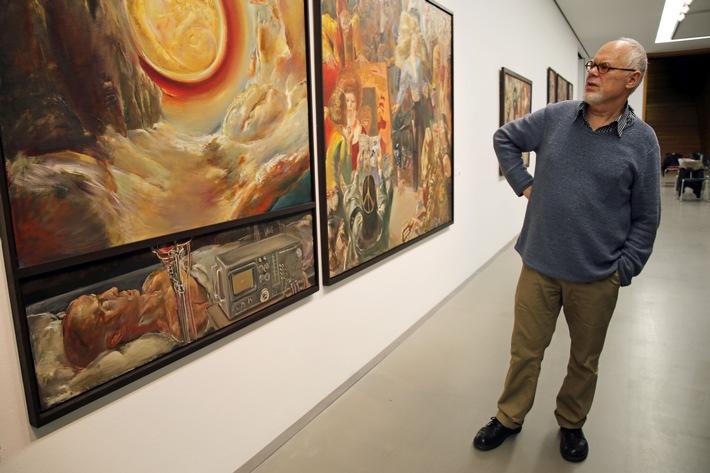 Erste umfassende Retrospektive von Sighard Gille im Museum der bildenden Künste Leipzig zu sehen