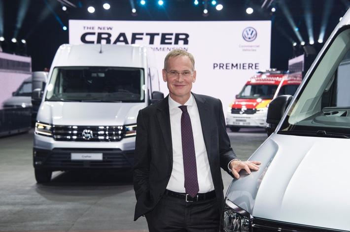 Der neue Crafter - die neue Größe / Wirtschaftlich, funktional und zuverlässig wie nie zuvor