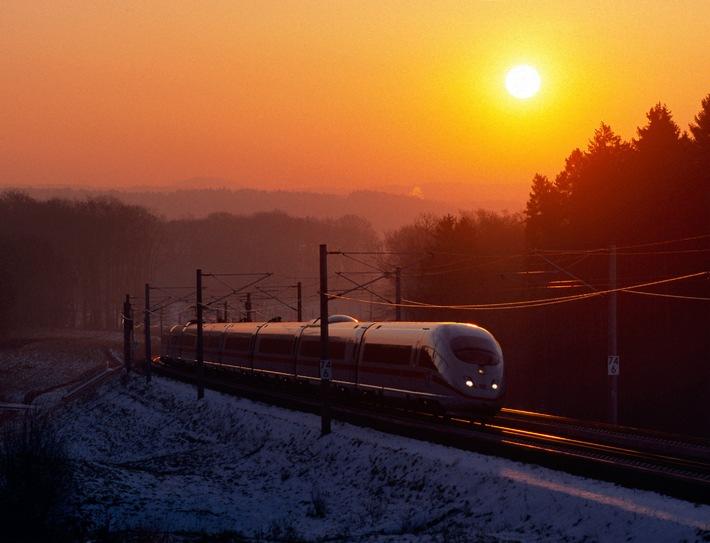 Die Deutsche Bahn stellt für Journalisten eine Auswahl an honorarfreien Pressebildern zur Verfügung