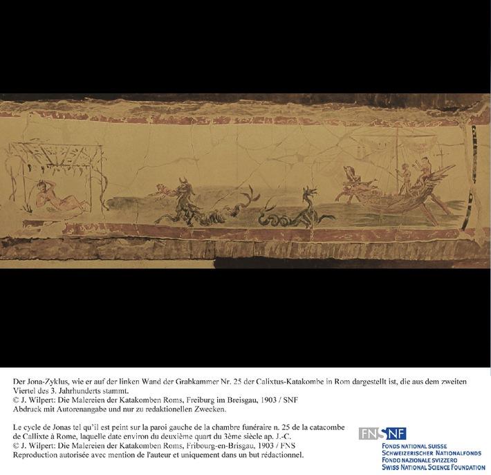 SNF: Bild des Monats März 2010: Eine frühchristliche Darstellung des Jona-Themas