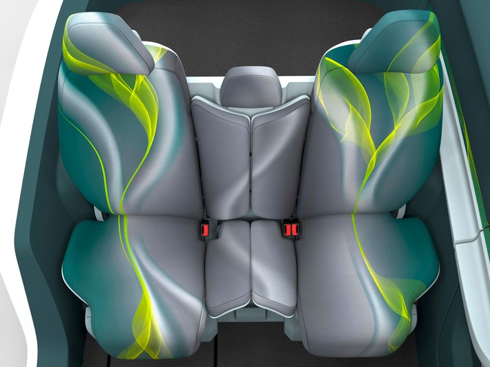 Johnson Controls presents new SD15 seating vehicle concept at IAA 2015, supporting automotive seating trends already today