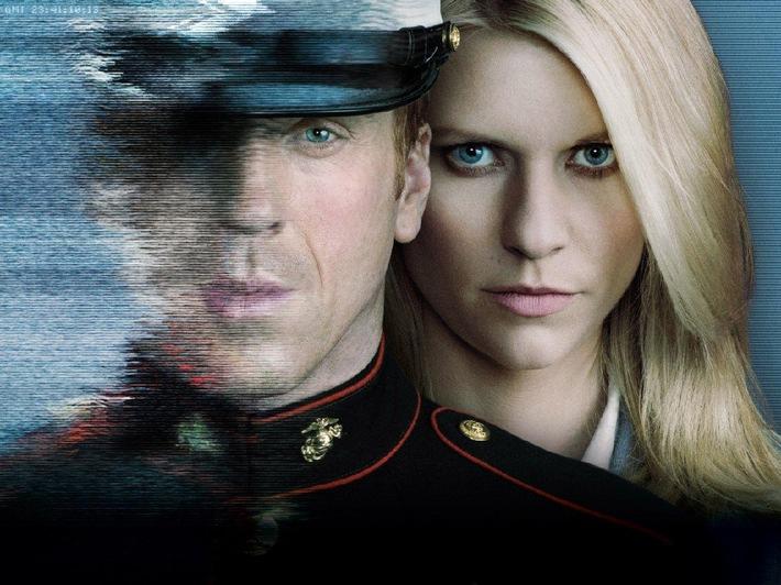 """""""Die beste Serie der Welt"""" - US-Serien-Hit """"Homeland"""" ab 3. Februar 2013 am Super-Serien-Sonntag in SAT.1 (BILD)"""