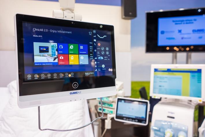 Digitale Vernetzung klinischer Informationssysteme: Patientenentertainment neu gedacht
