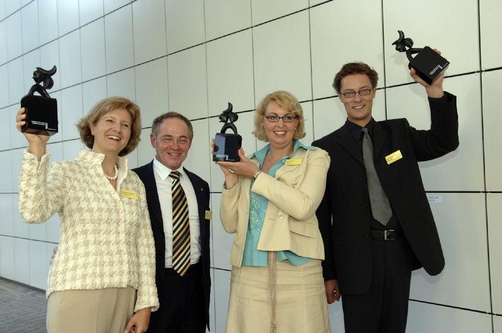 "Award Corporate Communications 2006: ""Communicators"" - einmal Gold und zweimal Bronze"