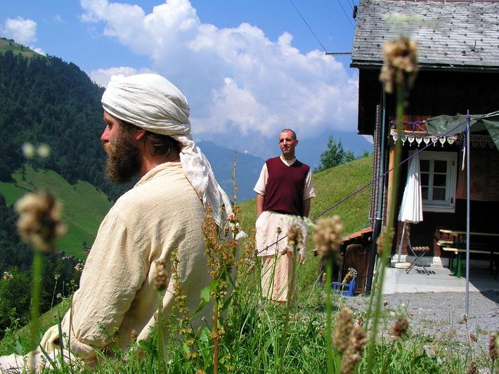 Media Service: Hindu-Mönche im Schächental