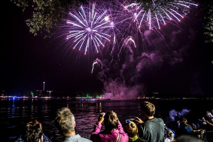 2,25 Millionen Gäste besuchten das 30. Maschseefest in Hannover