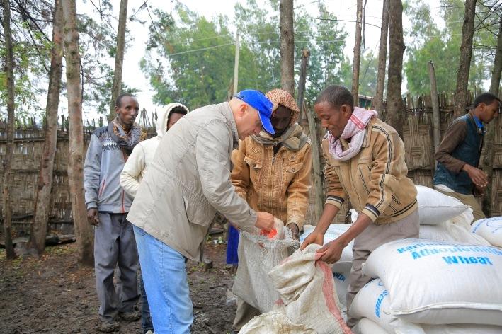 Stiftung Menschen für Menschen: Nothilfe gegen Hunger