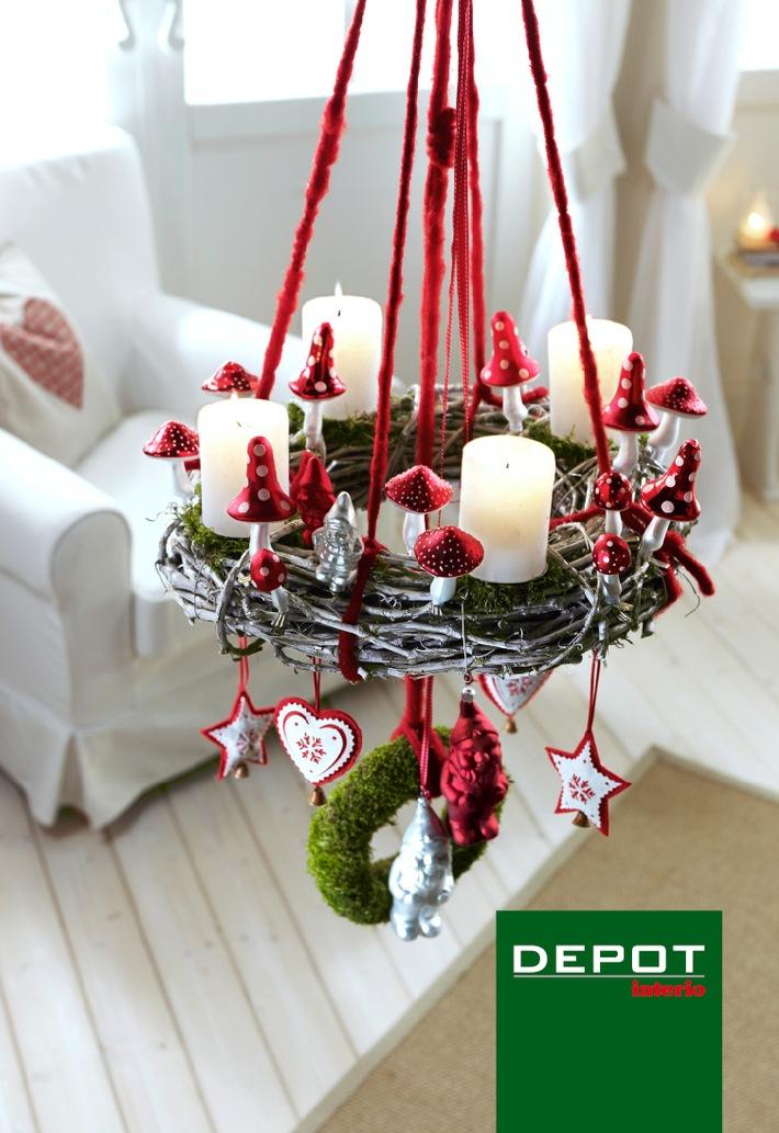 Noël 2010 chez DEPOT-Interio: Dès maintenant dans toutes les succursales